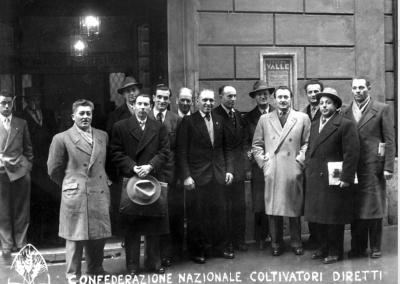 Congresso Nazionale Coltivatori Diretti, Roma 1950