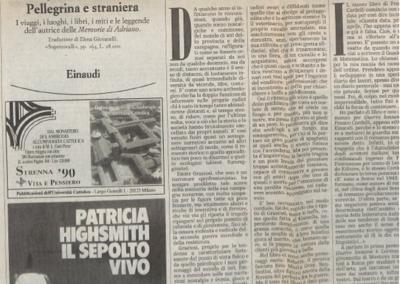 Le mele maturavano al sole_Tuttolibri la Stampa (8 dicembre 1990)
