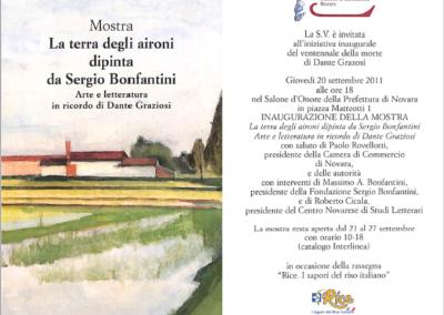 Mostra La terra degli aironi dipinta da Sergio Bonfantini, VI edizione Premio Graziosi