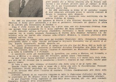 Volantino candidatura Camera dei Deputati lista Democrazia Cristiana