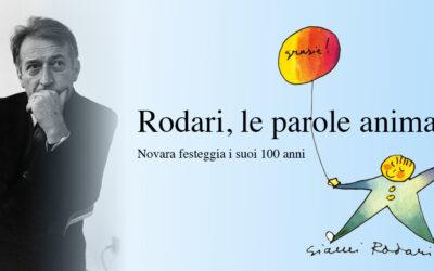 """In biblioteca una mostra su """"Rodari, le parole animate"""":  un viaggio con i suoi illustratori, da Munari a Luzzati ad Altan"""