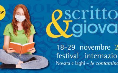 """Le """"contaminazioni"""" di Scrittori&giovani a Novara: il festival internazionale torna on line dal 18 al 29 novembre"""