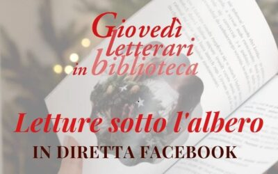 Letture sotto l'albero – Giovedì letterari in biblioteca – eventi dicembre 2020